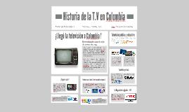 La tv en Colombia