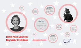 Election Project: Carly Fiorina