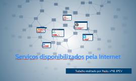 Serviços disponibilizados pela Internet