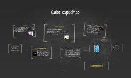 Copy of Calor específico y latente