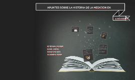 APUNTES SOBRE LA HISTORIA DE LA MEDICION EN COLOMBIA