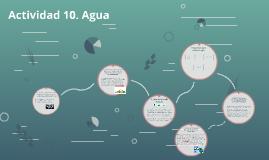Actividad 10. Agua