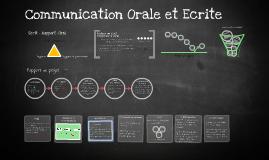 Communication Orale et Ecrite