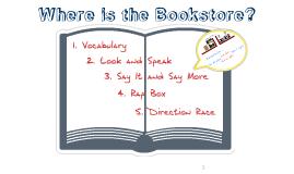 Grade 5 Lesson 13 Where is the bookstore?