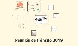 Reunión de Tránsito 2018