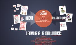 DERIVADOS DE LOS ACIDOS ENOLICOS