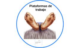 Copy of Plataformas de trabajo