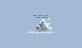 Discernment Paper