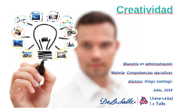 Copy of Creatividad
