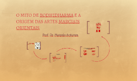 O MITO DE BODHIDHARMA E A ORIGEM DAS ARTES MARCIAIS ORIENTAI