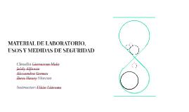 MATERIAL DE LABORATORIO, USOS Y MEDIDAS DE SEGURIDAD