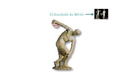El discobolo de Mirón