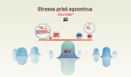 Stresas prieš egzaminus