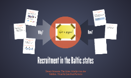 Recruitment in the Baltic states