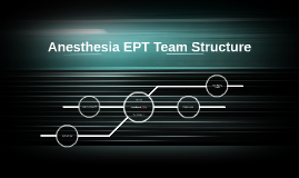 Anesthesia EPT Team Structure