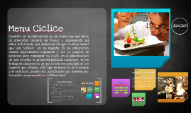 Copy of Menu Ciclico
