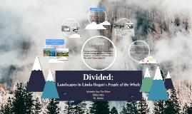 Divided: Landscapes in Linda Hogan's