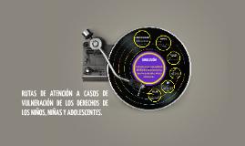 RUTAS DE ATENCIÓN A CASOS DE VULNERACIÓN DE LOS DERECHOS DE