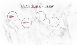 FSA i dansk - Essay