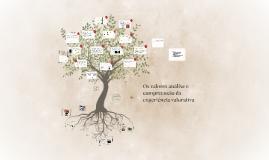 Os valores análise e compreensão da experiência valorativa