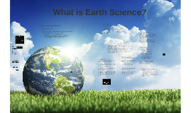 1 - Introduction to Earth Science
