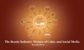 The Beauty Industry, Women of Color and Social Media
