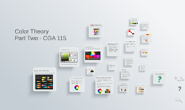 Color Theory Part 2 - CGA 115
