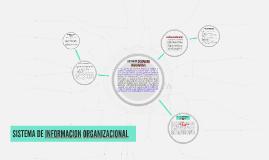 Copy of SISTEMA DE INFORMACION ORGANIZACIONAL