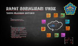 rapat SOSIALISASI UNBK