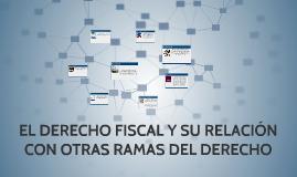 Copy of EL DERECHO FISCAL Y SU RELACION CON OTRAS RAMAS DEL DERECHO