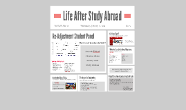 Life After Study Abroad