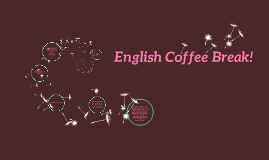 2016 English Dept. Mtg