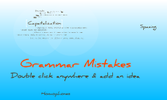 Copy of Grammar Mistakes