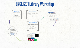 Copy of ENGL1201 Library Workshop (May 2017)