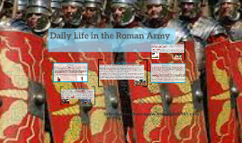 Daily Life in the Roman Army