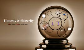 Honesty & Sincerity