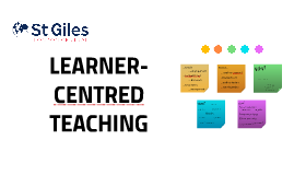 Learner-centred teaching