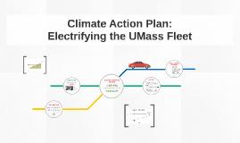 Electrifying the UMass Fleet