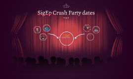 SigEp Crush Party dates