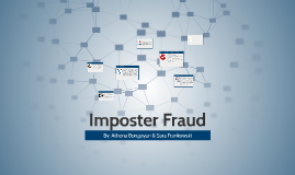 Imposer Fraud