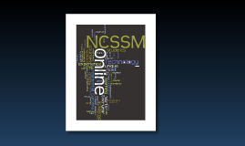 NCSSM Online Technology Overview