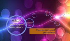 Copy of prosesos basicos del pensamiento