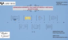 DEPRESIÓN POSPARTO: FACTORES DE RIESGO Y MÉTODOS DE DETECCIÓ