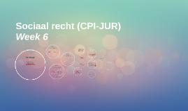 Sociaal recht (CPI-JUR)