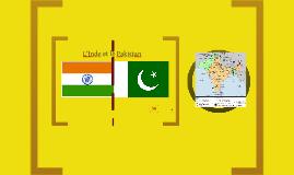L'Inde et le Pakistan