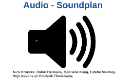 Audio - Soundplan