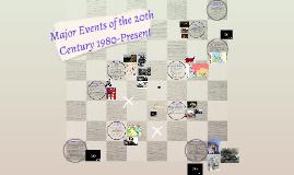 Major Events 1980-Present (2016-2017)