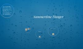 Summertime Hunger