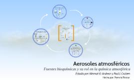 Aerosoles atmosféricos