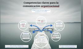 Competencias claves para la comunicación organizacional